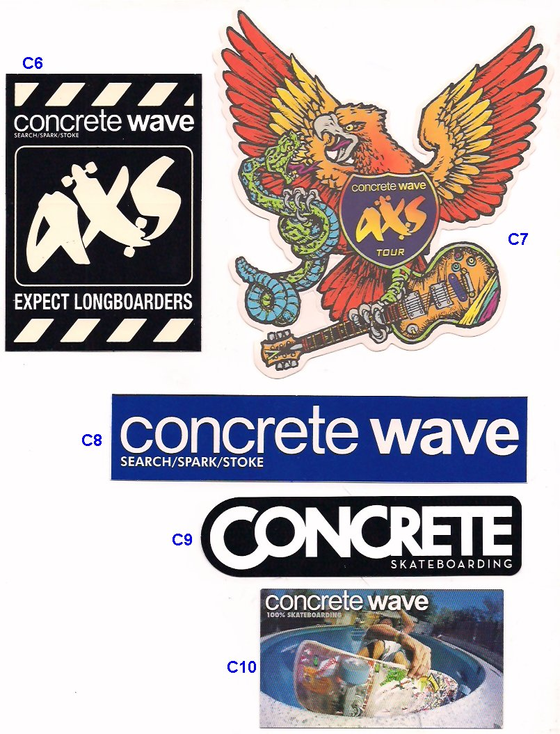 C8 1 00 concrete wave search spark stoke 5 c9 1 00 concrete wave skateboarding 1 c10 50 concrete wave business card 1